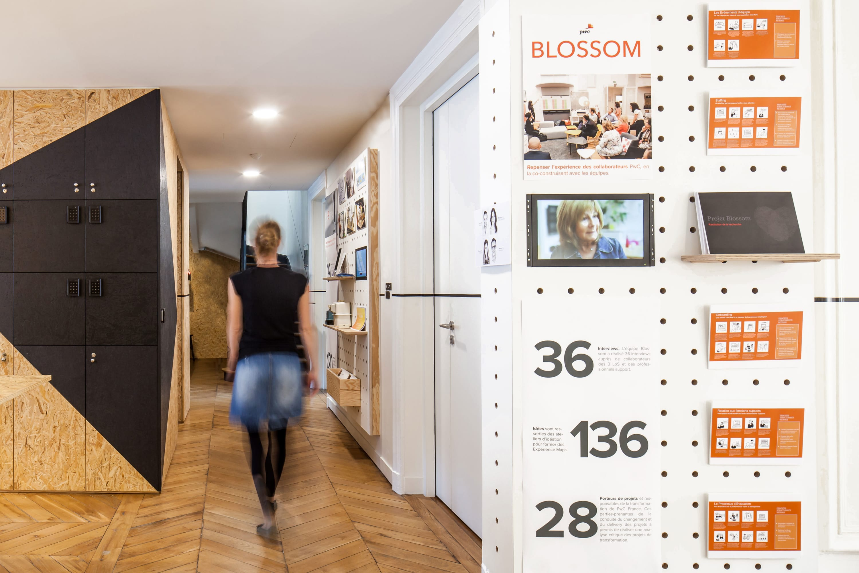 Idee Renovation Salon vincent & gloria architectes, arnaud schelstraete · pwc