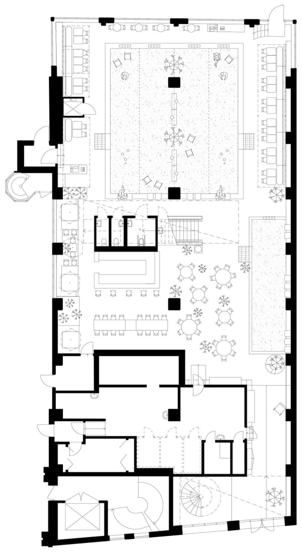 Plans of Bars and Restaurants · A