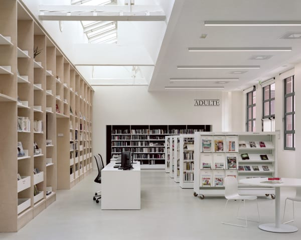 Libraries · A collection curated by Divisare
