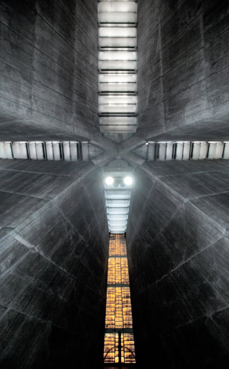 Kenzo Tange, Xia Zhi · Tokyo St.Mary's Cathedral. Sekiguchi, Bunkyo-ku, Tokyo, Japan