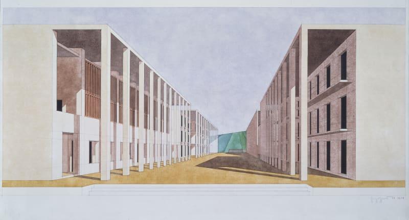 Giorgio Grassi · Student Halls of Residence in Chieti